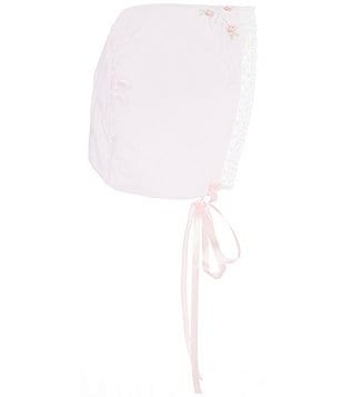 Feltman Brothers Baby Girls Embroidered Bonnet