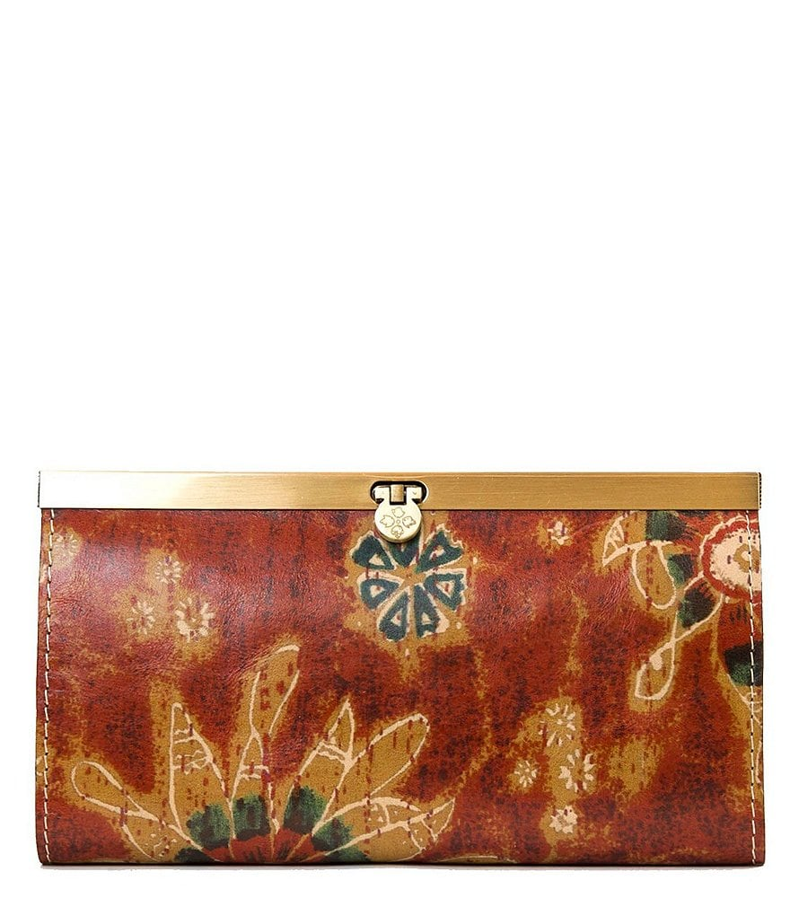 Patricia Nash 70s Revival Collection Cauchy Frame Wallet