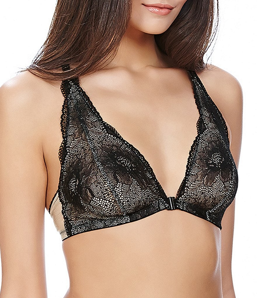 b.tempt´d by Wacoal b.provocative Floral Lace Front-Closure Bralette