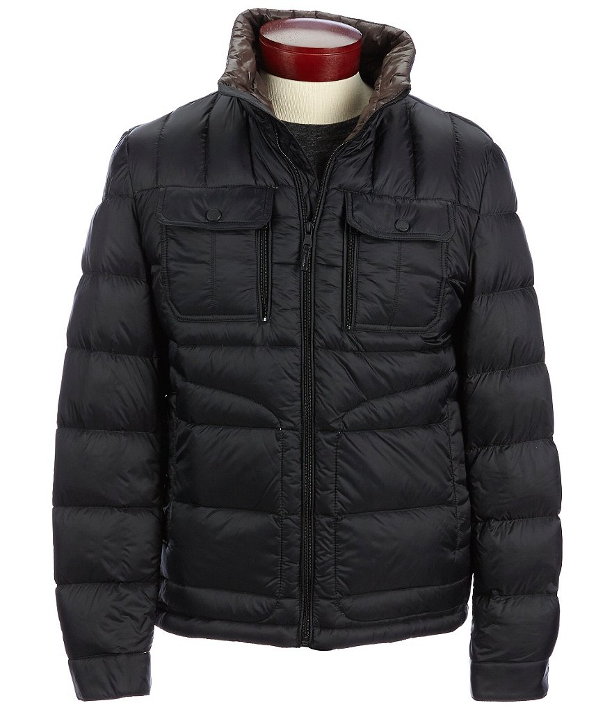 Michael Kors Double-Needle-Quilted Puffer Jacket