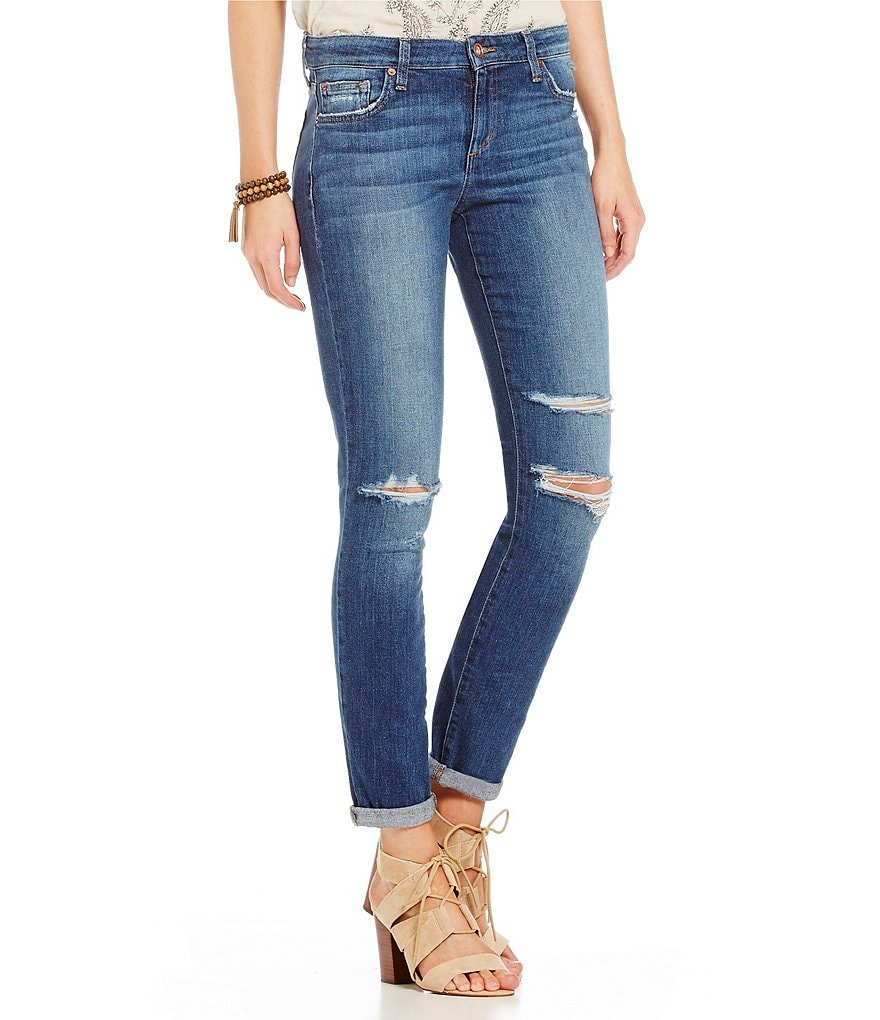 Joe´s Jeans Addison Distressed Skinny Ankle Jeans