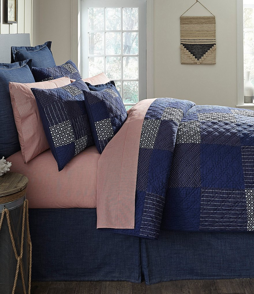 Cremieux Zach Patchwork Quilt Mini Set