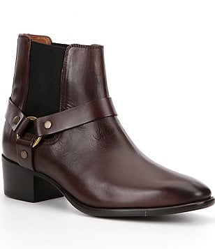 Frye Dara Harness Chelsea Short Booties