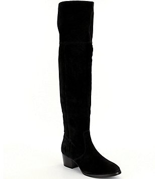Frye Clara Suede Over The Knee Boots