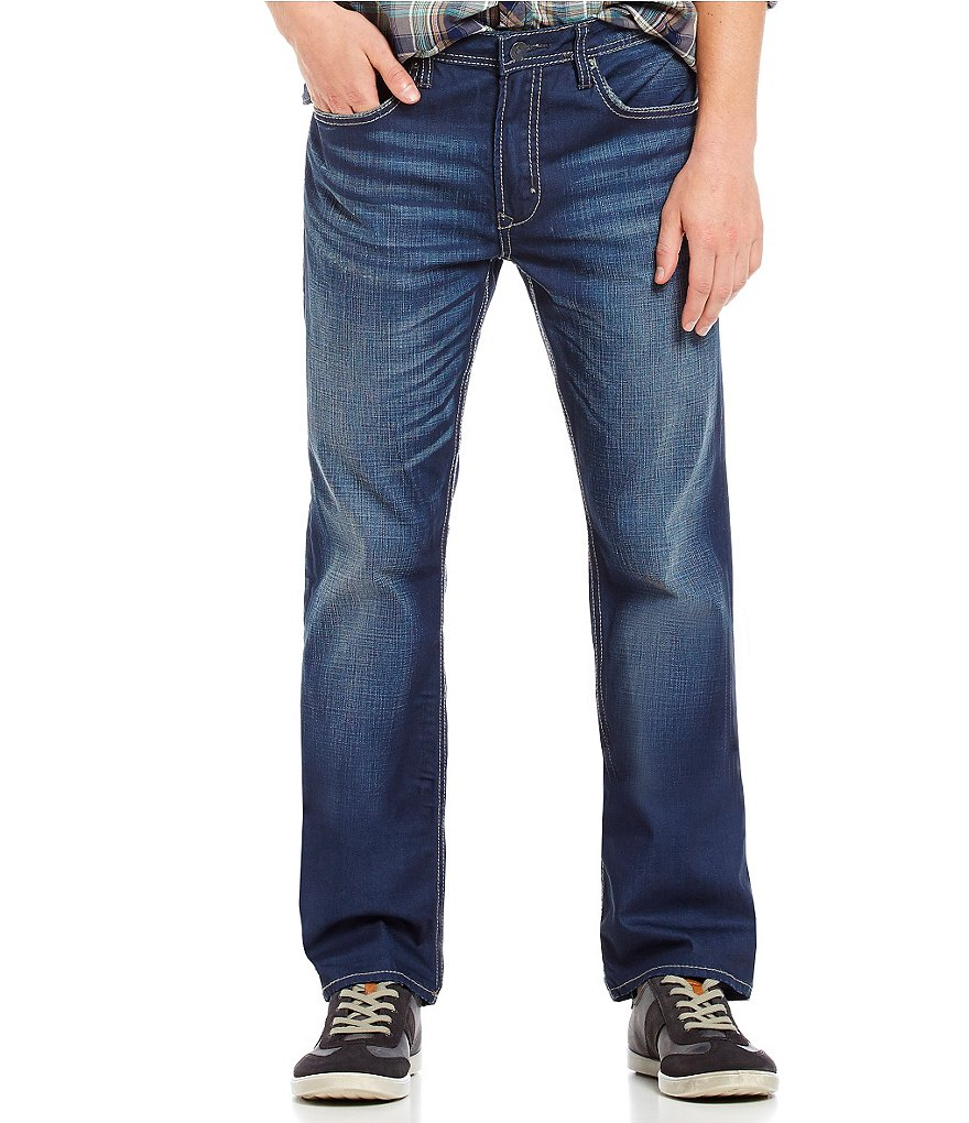 Buffalo David Bitton Game Relaxed-Fit Bootcut Denim Jeans