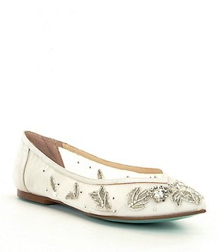 Blue by Betsey Johnson Adele Flats
