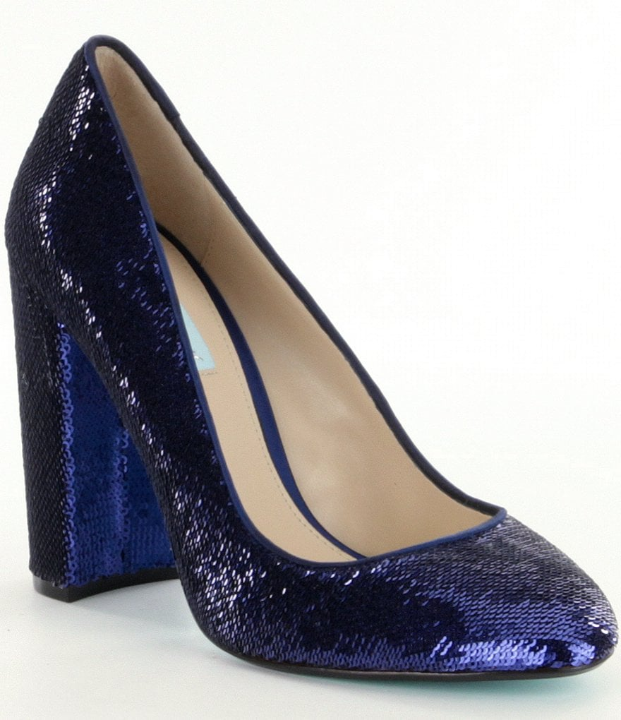 Blue by Betsey Johnson Lou Sequin Pumps