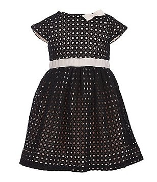 kate spade new york Little Girls 2-6 Guipure Lace Dress