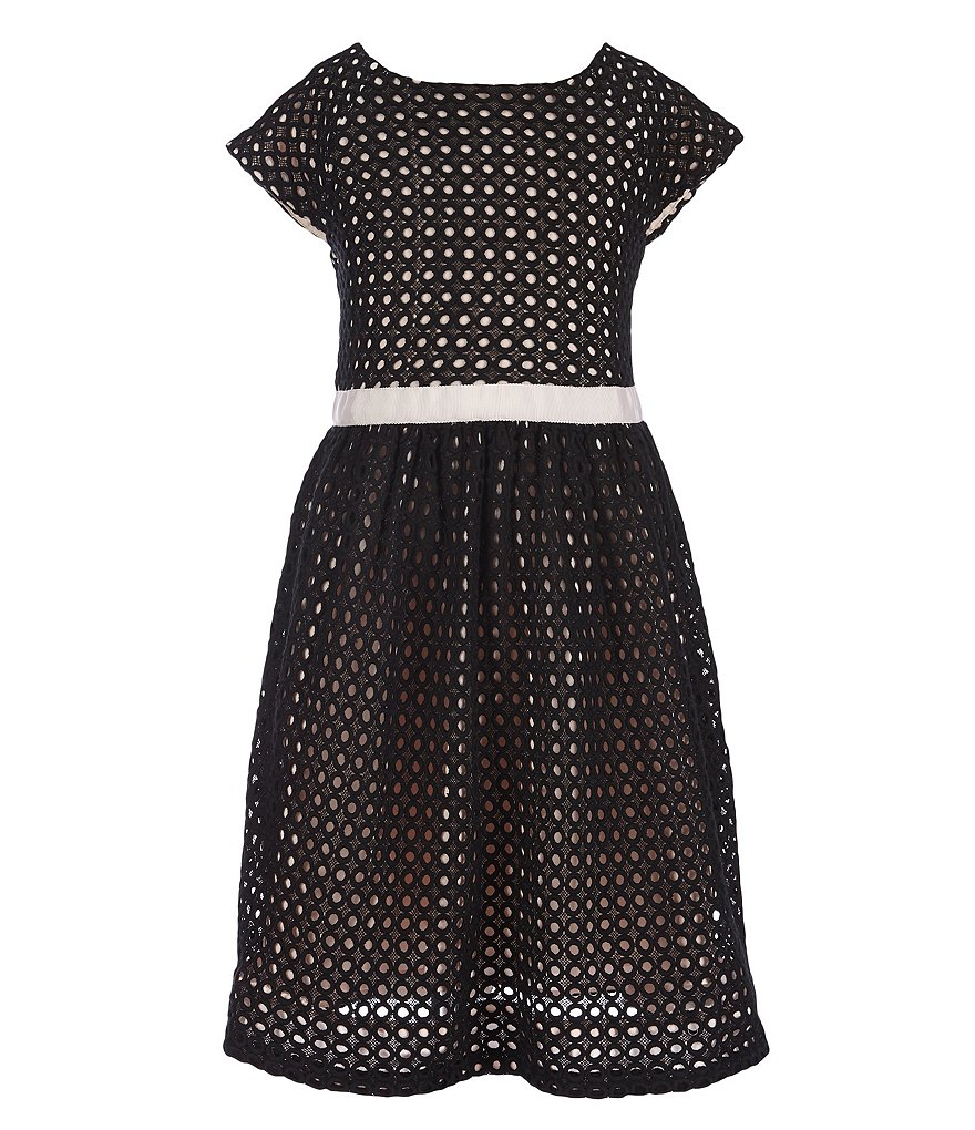 kate spade new york Big Girls 7-14 Guipure Lace Dress