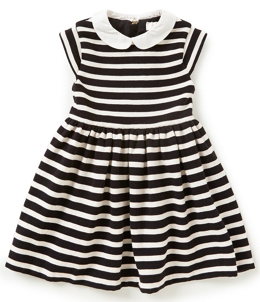 kate spade new york Little Girls 2-6 Striped Kimberly Dress