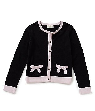 kate spade new york Big Girls 7-14 Pocket Cardigan