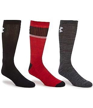 Under Armour Twisted 2.0 Crew Socks 3-Pack