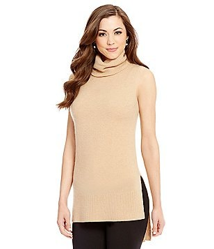 Antonio Melani Cashmere Harlow Hi Low Turtleneck Sweater