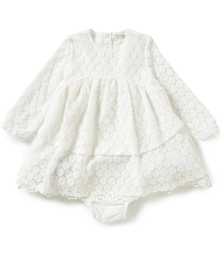 Jessica Simpson Baby Girls 12-24 Months Lace Dress