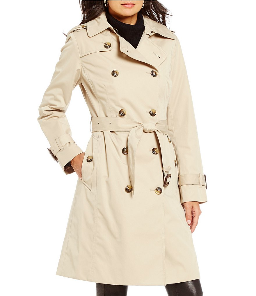 London Fog Heritage Double Breasted Trench Coat