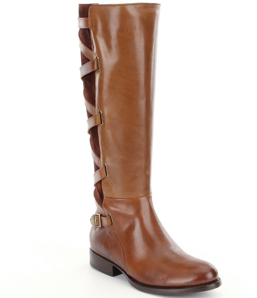 Frye Jordan Strappy Tall Riding Boots