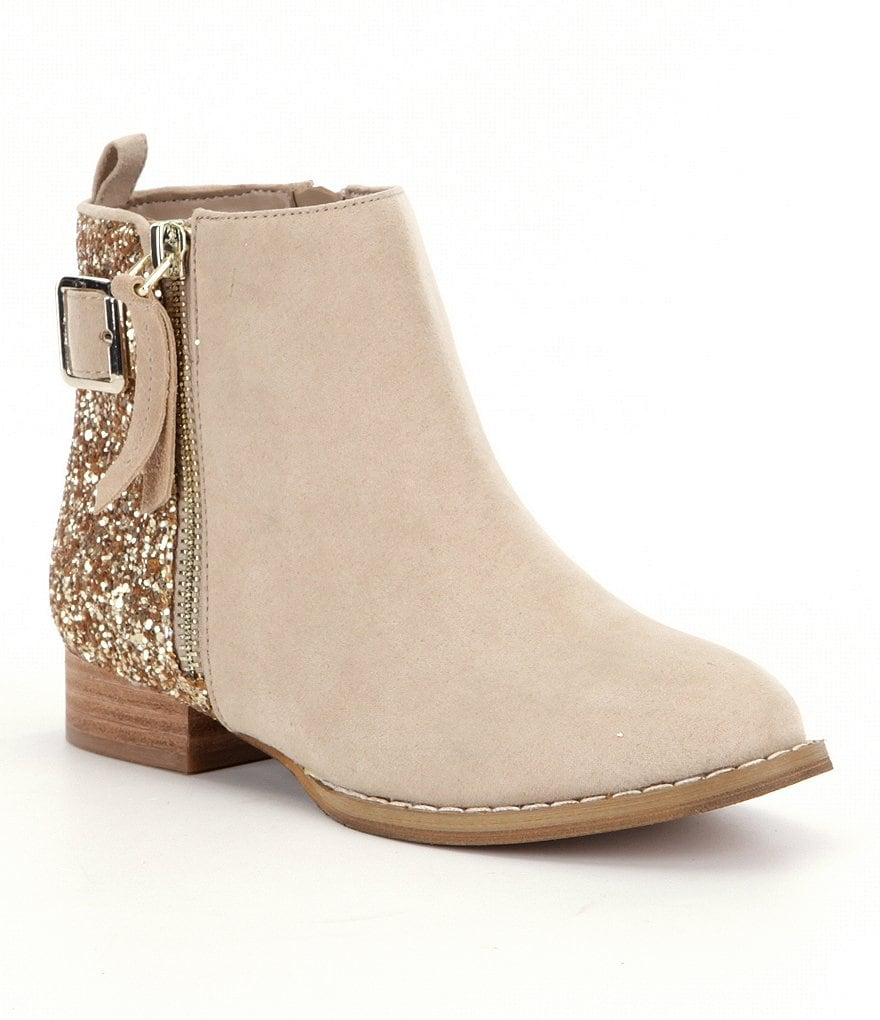 GB Girls' Loud-Girl Glitter Booties