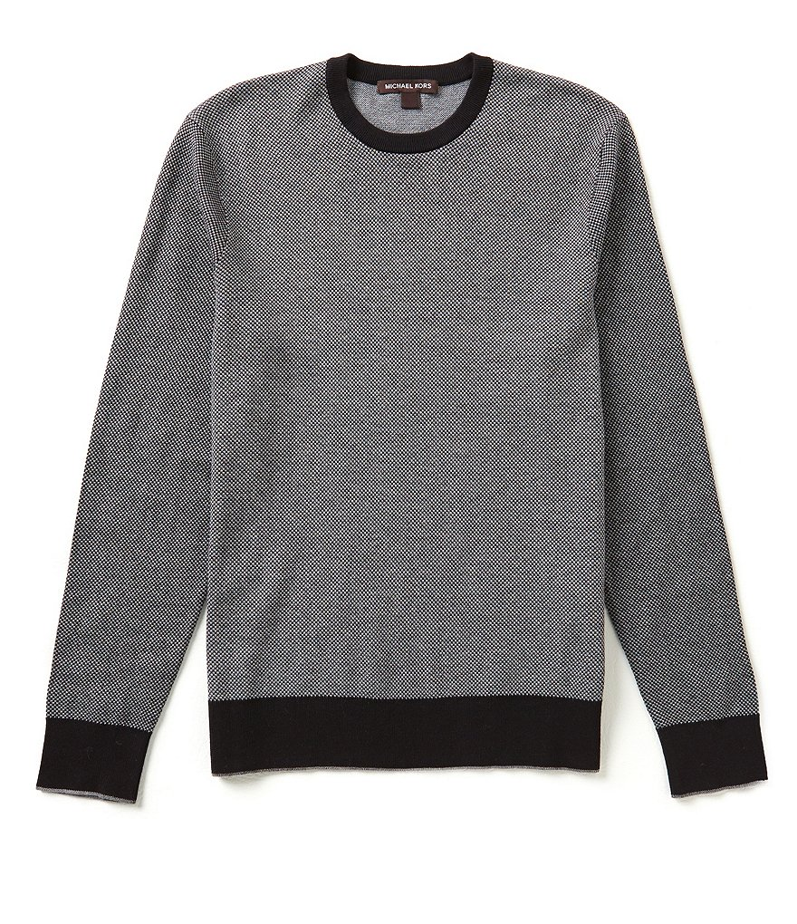 Michael Kors Cotton Jacquard Sweater