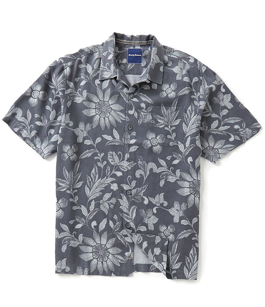 Tommy Bahama Short-Sleeve Maraba Mirage Floral Woven Shirt
