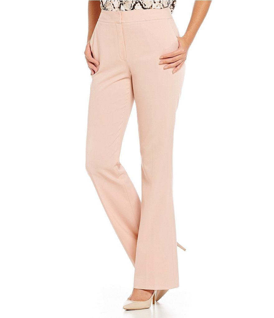 Calvin Klein Luxe Stretch Wide-Leg Pants