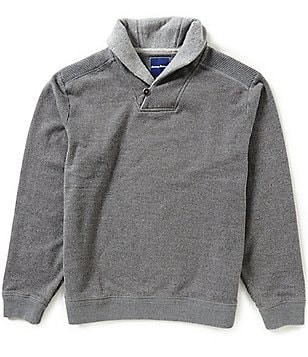 Tommy Bahama Long-Sleeve Summit Hill Shawl Collar Pullover