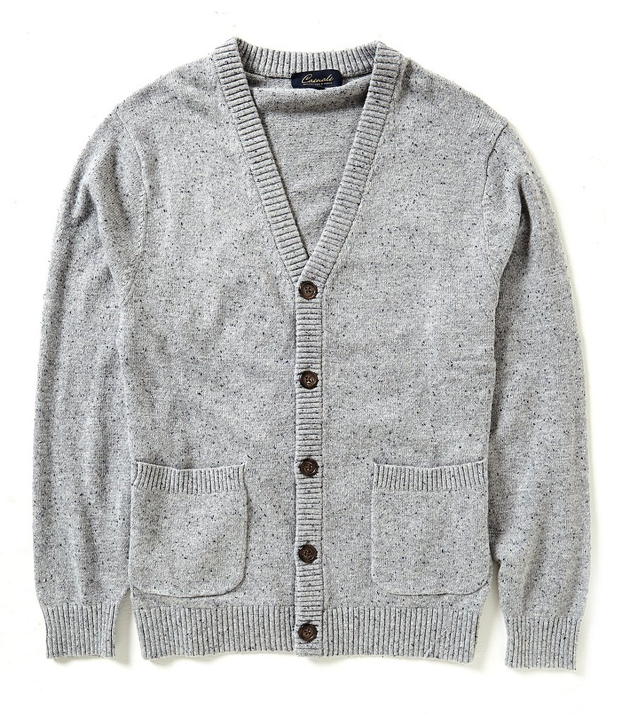 Roundtree & Yorke Cardigan Donegal Sweater