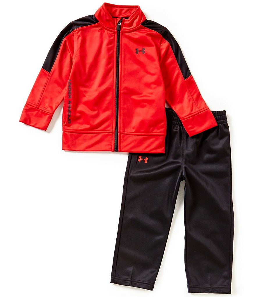 Under Armour Little Boys 2T-7 Fearless Tricot Track Jacket & Pant Set
