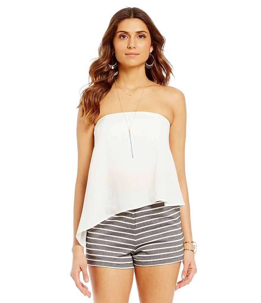 Gianni Bini Lisa Strapless Blouse