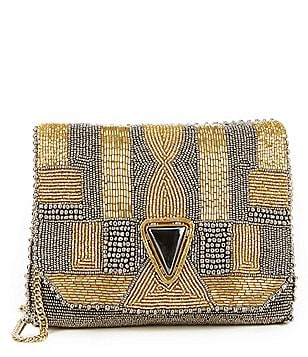 Mary Frances Quest Beaded Clutch