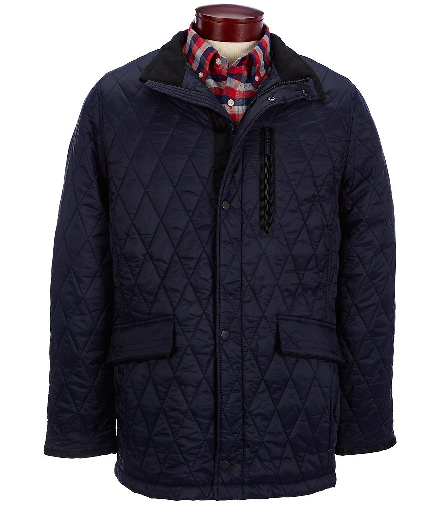 Rainforest Diamond Quilted Walking Jacket