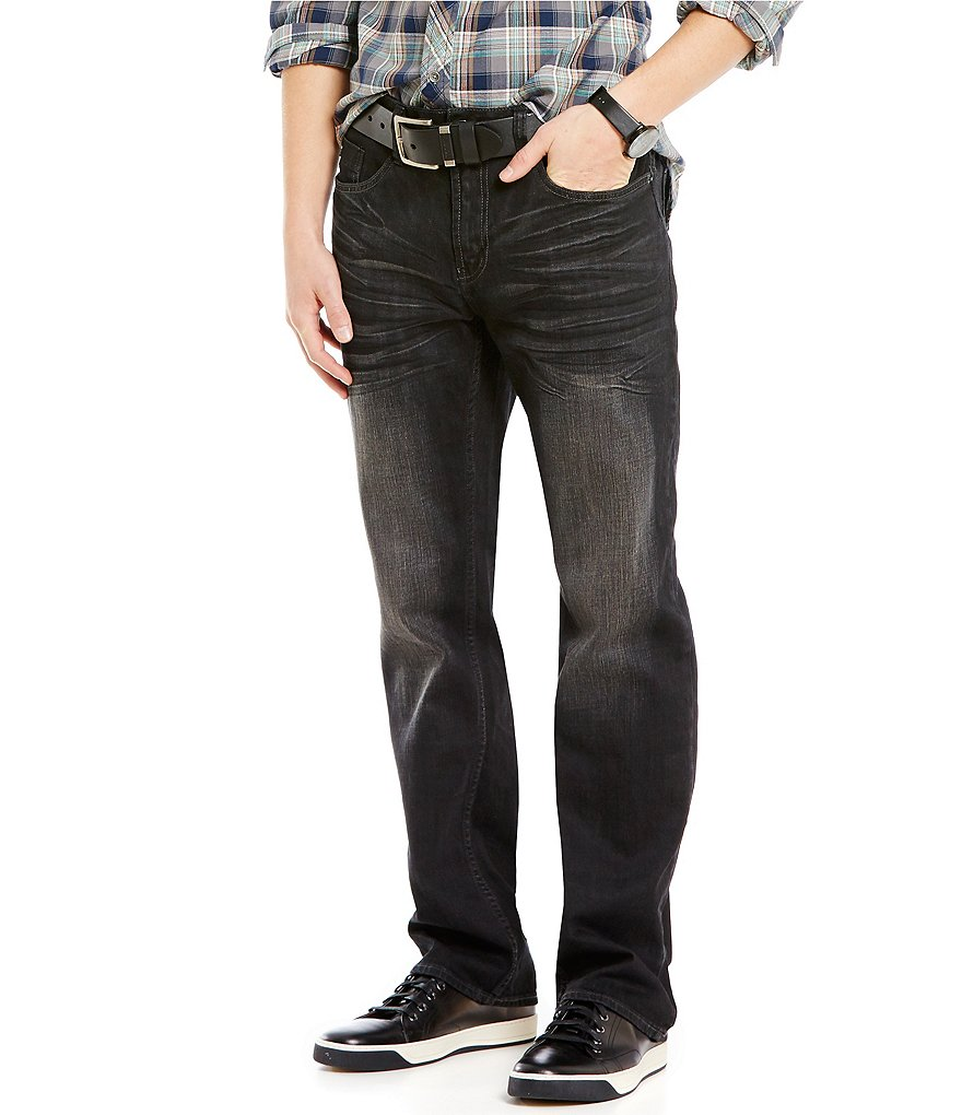 Buffalo David Bitton Straight-Leg Jeans