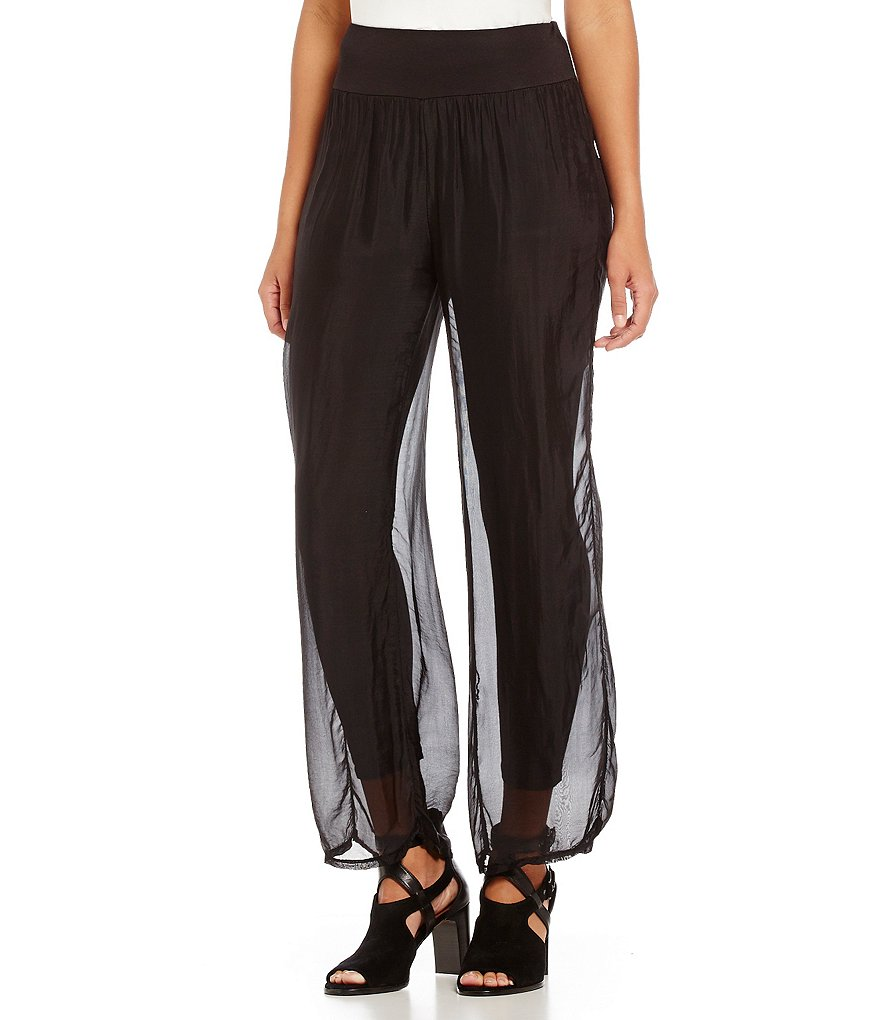 M Made In Italy Wide Leg Pants