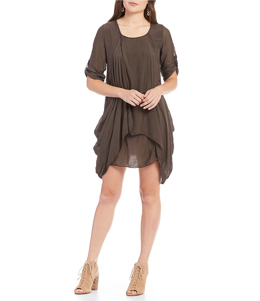 M Made In Italy Tunic Dress