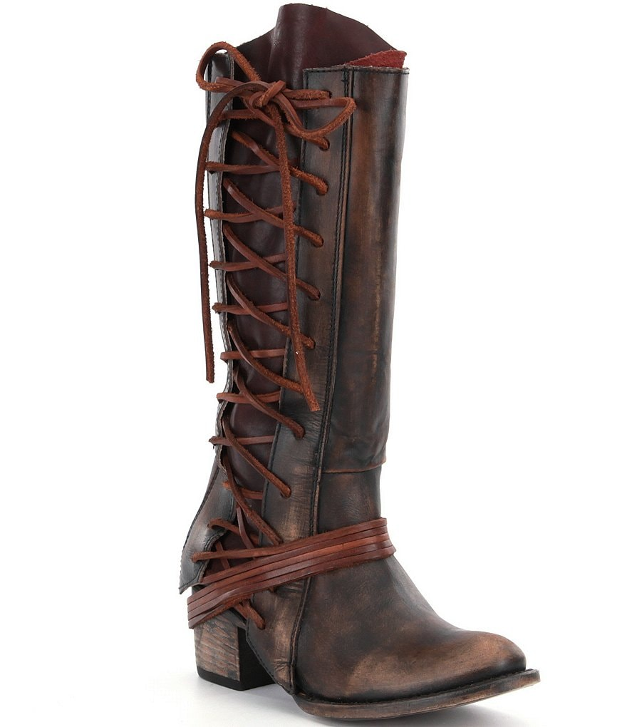 Freebird Cash Lace-Up Boots