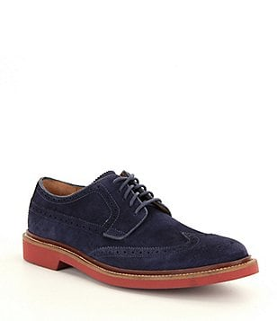 Cole Haan Men´s Suede Briscoe Wingtip Oxfords