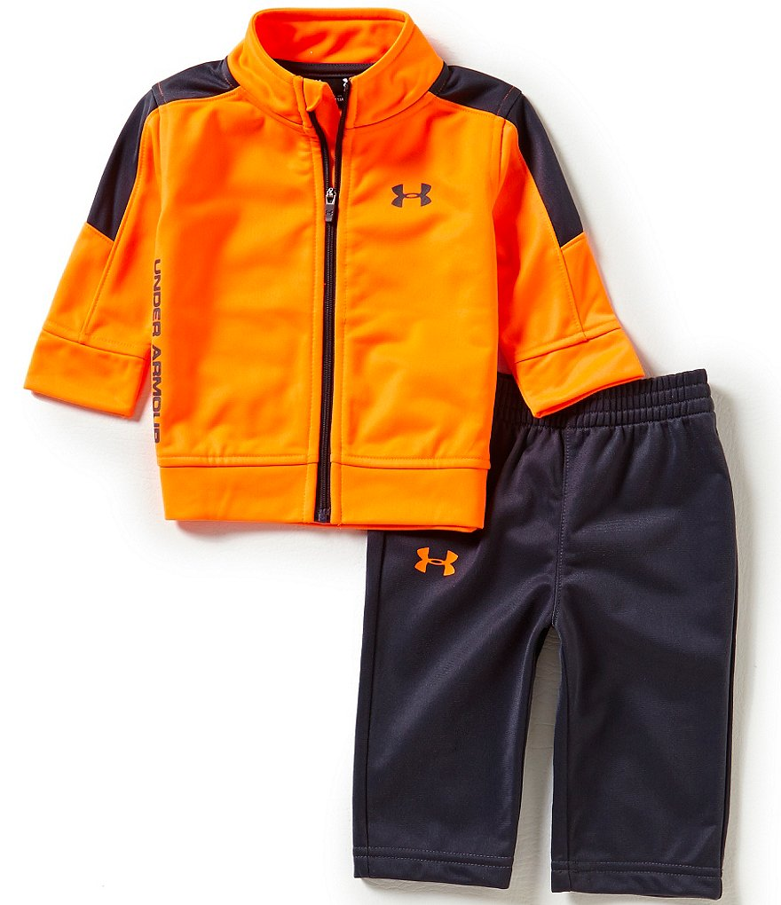 Under Armour Baby Boys Newborn-24 Months Fearless Tricot Track Jacket & Pant Set