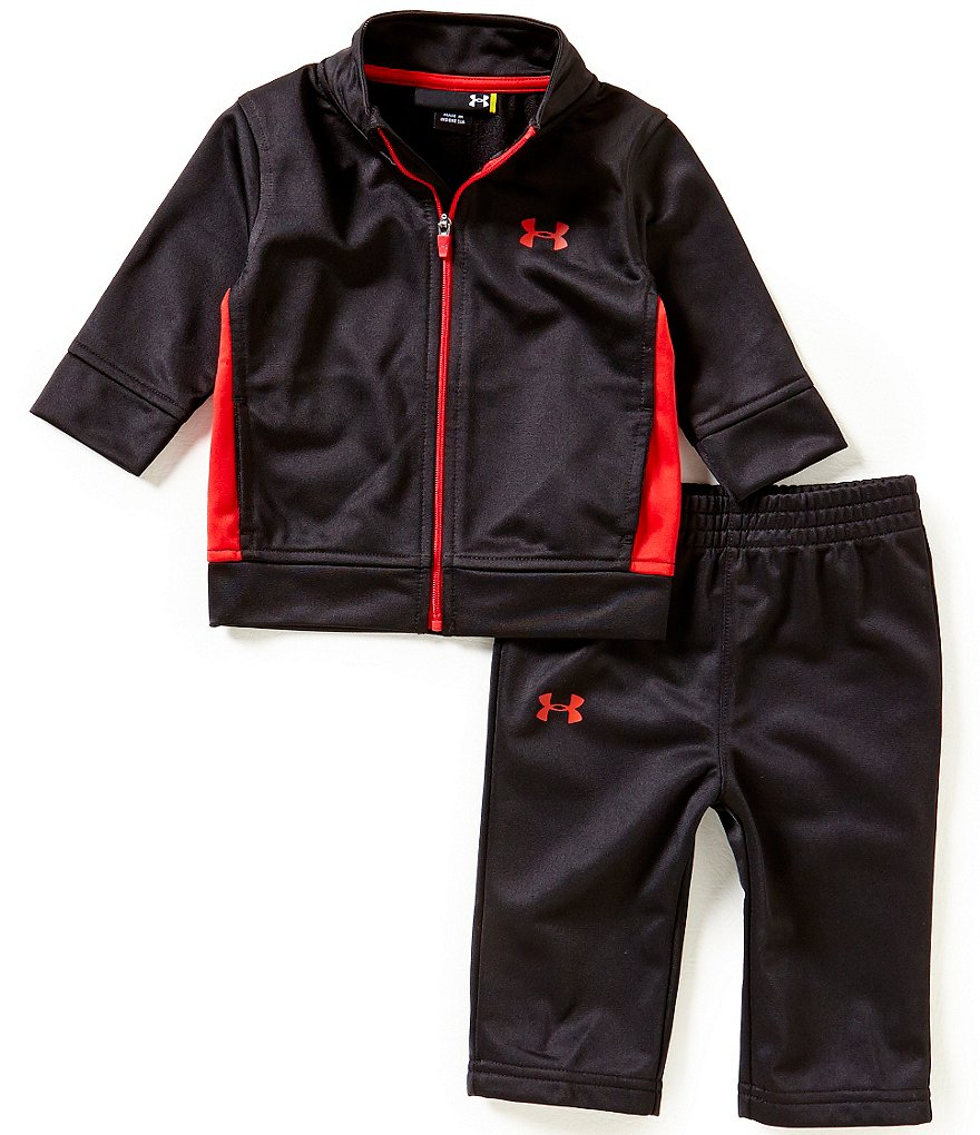 Under Armour Baby Boys Newborn-24 Months Legendary Tricot Track Jacket & Pant Set
