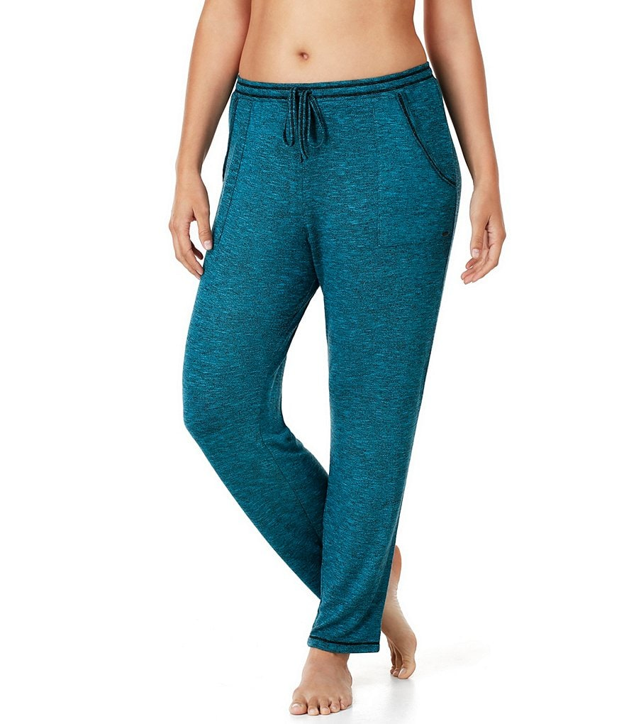 Kensie Plus Marled Lounge Pants