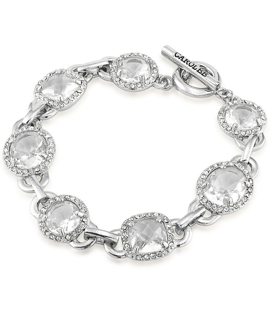 Carolee Columbus Circle Flex Bracelet