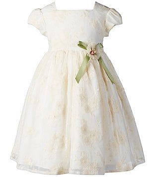 Laura Ashley London Little Girls 2T-6X Floral-Ribbon Dress