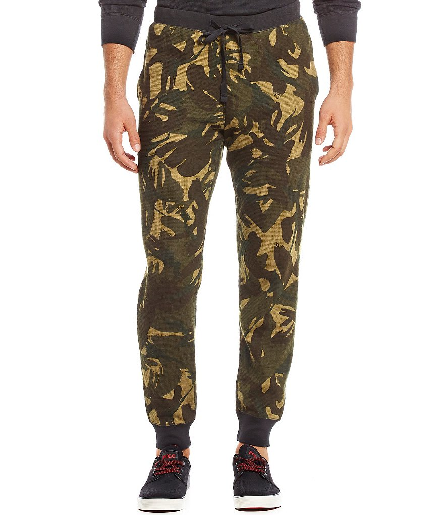 Polo Ralph Lauren Waffle-Knit Camo Joggers