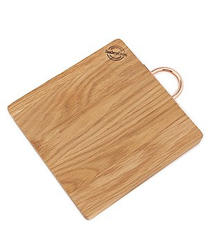 Southern Living Oak Wood and Copper Cutting Board