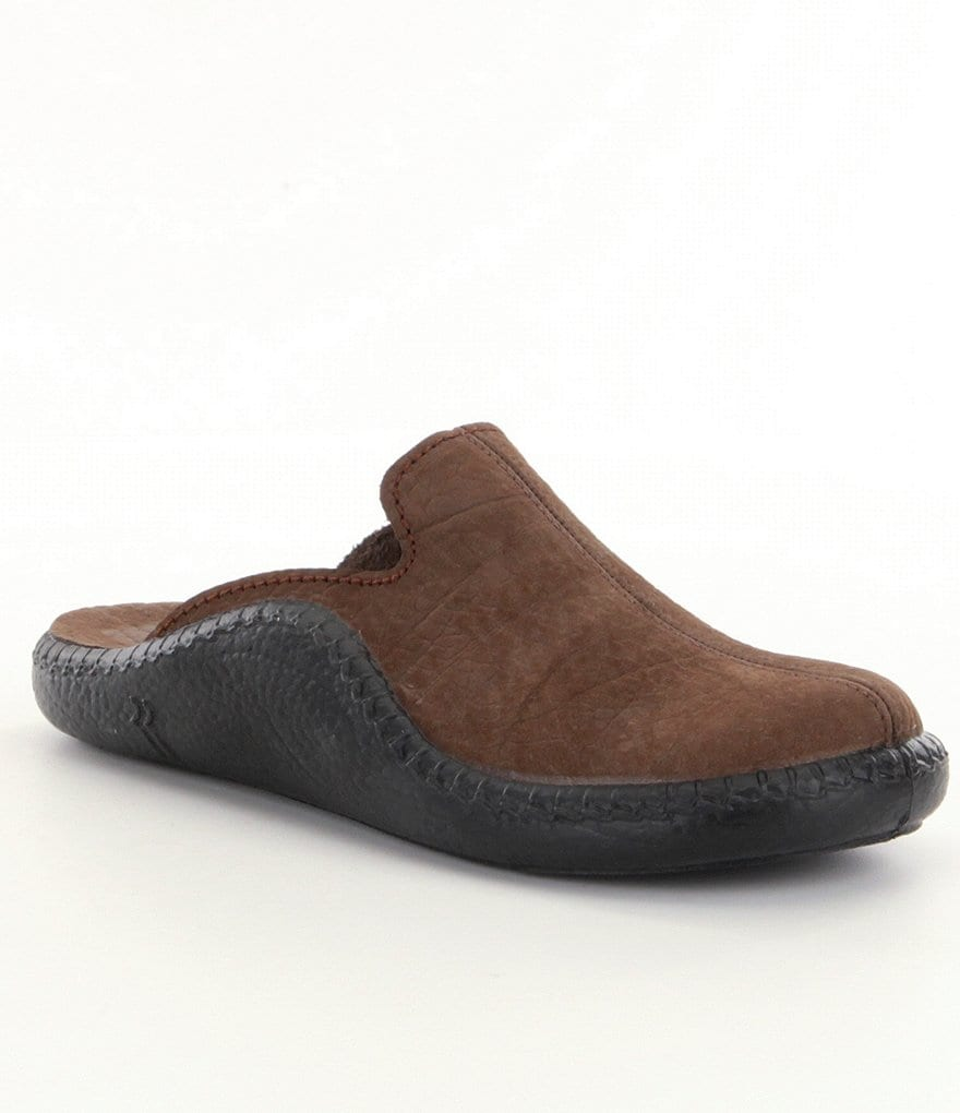 Romika Mokasso 102 Nubuck Open Back Slip On Casual Mules