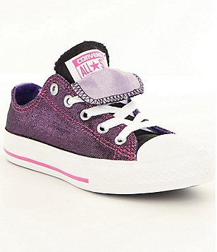 Converse Girls´ Chuck Taylor® All Star® Shimmer Double Tongue Sneakers