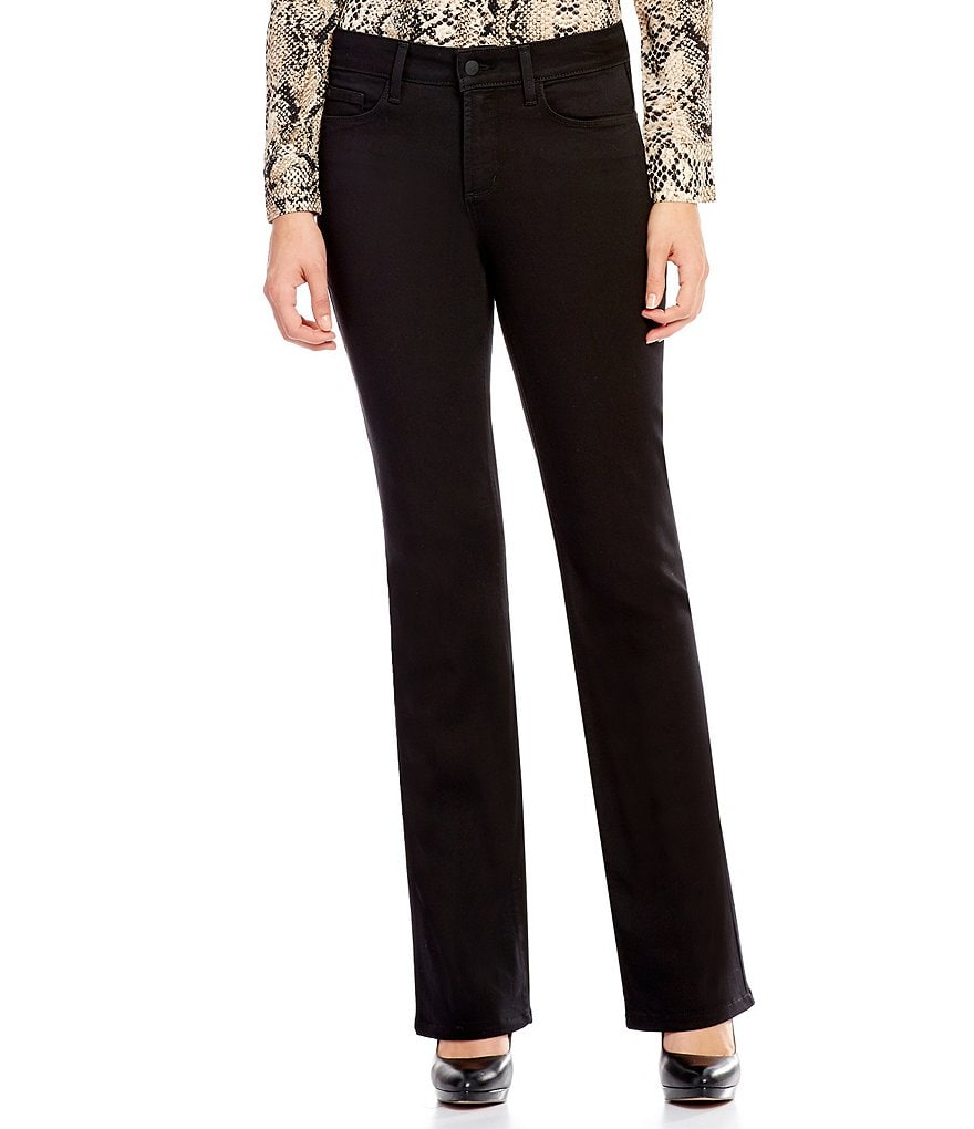 NYDJ Barbara Bootcut Embellished Back-Pocket Jeans