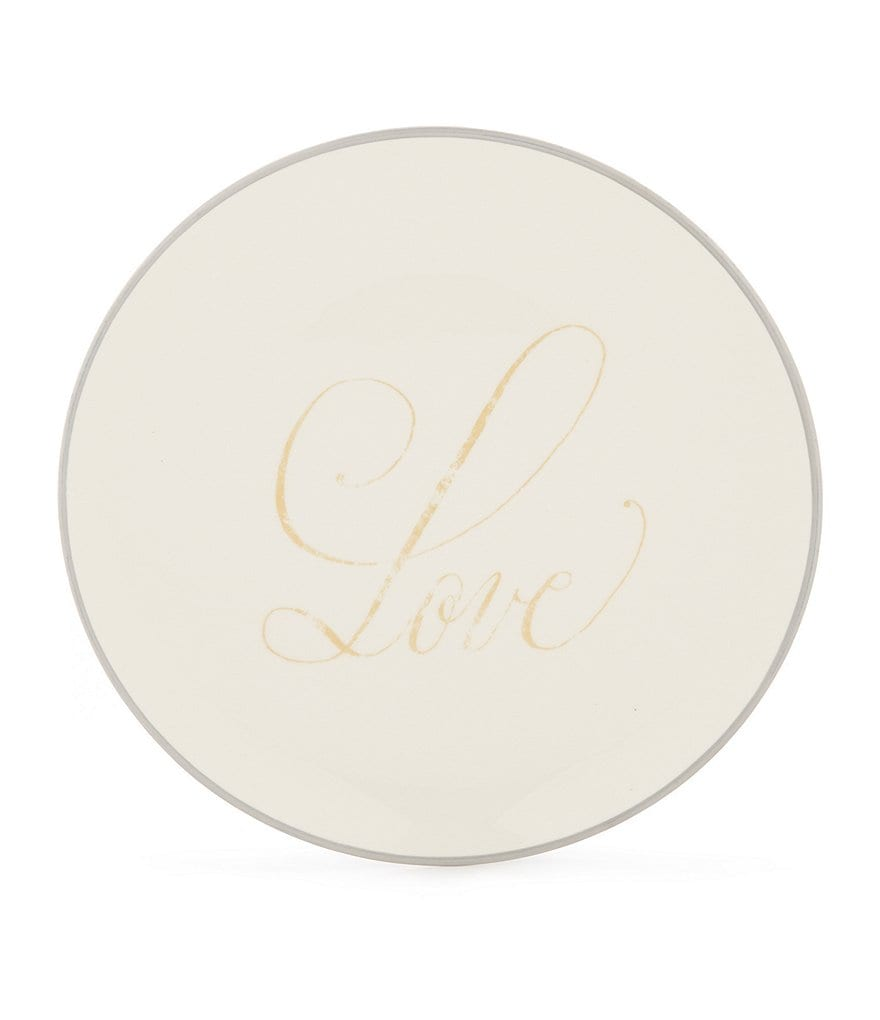 Southern Living Love Round Salad Plate