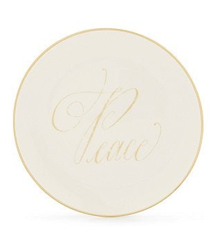 Southern Living Peace Accent Salad Plate