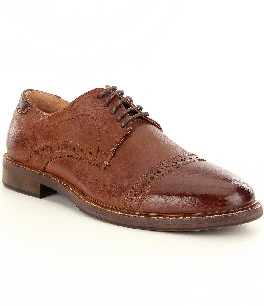 Steve Madden Men´s Dystrow Cap Toe Oxfords