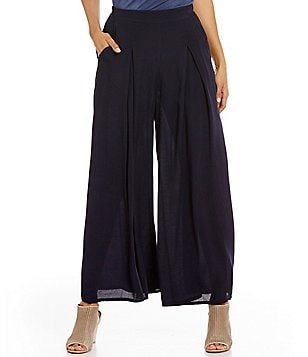 M Made In Italy Soft Wide Leg Pant
