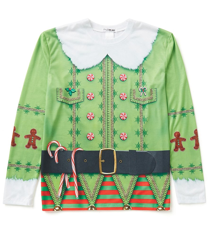 Faux Real Christmas Elf T-Shirt